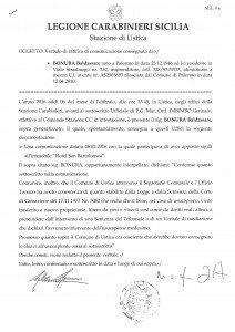 foto Dichiarazone ai CC di Ustica 6 febbraio 2016